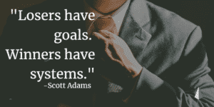 business systems-InstitutionEnterprises-losers have goals